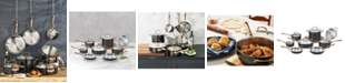 Cuisinart Onyx Black & Rose Gold 12-Pc Stainless Steel Cookware Set, Created for Macy's