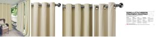"""Elrene Connor 52"""" x 84"""" Indoor/Outdoor Grommet Panel, Water-Repellent and 50+ UV Protection"""