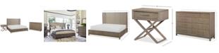 Furniture Rachael Ray Highline Bedroom Furniture, 3-Pc. Set (Upholstered Shelter California King Bed, Dresser & Bedside Chest/Nightstand)