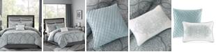 Madison Park Lavine 12-Pc. King Comforter Set
