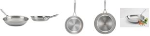 """Anolon Tri-Ply Clad Stainless Steel 12.75"""" French Skillet"""