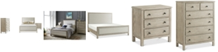 Furniture Parker Upholstered Bedroom Furniture, 3-Pc. Set (King Bed, Chest & Nightstand), Created for Macy's