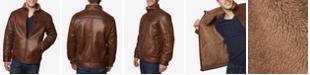 Buffalo David Bitton Men's Big & Tall Faux-Leather Jacket