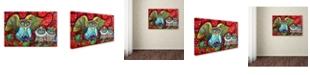 """Trademark Global Oxana Ziaka 'Baby King' Canvas Art - 19"""" x 12"""" x 2"""""""