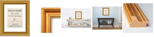"""Amanti Art Townhouse Gold 11"""" X 14"""" Matted to 8"""" X 10"""" Opening Wall Picture Photo Frame"""