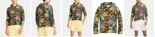 Polo Ralph Lauren Men's Floral-Print Hooded Long-Sleeve Cotton T-Shirt