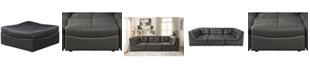 Furniture of America Onta Contemporary Ottoman