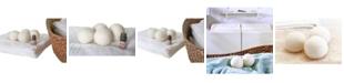 Woolite 4 Pack Wool Dryer Balls and Fresh Linen Essential Oil Kit