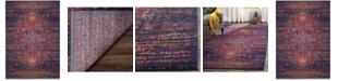 """Safavieh Evoke Blue and Fuchsia 5'1"""" x 7'6"""" Area Rug"""