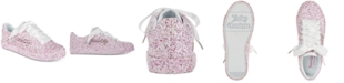 Juicy Couture Little & Big Girls Avalon Low-Top Glitter Sneakers