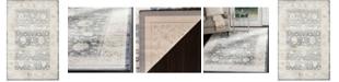 "Safavieh Vintage Dark Gray and Cream 5'1"" x 7'7"" Area Rug"