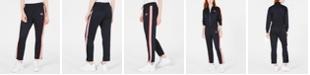 Juicy Couture Varsity-Stripe Track Pants