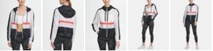 DKNY Sport Colorblocked Logo Hooded Windbreaker, Created for Macy's