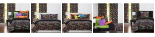 Crayola Neon Splat 5 Piece Twin Luxury Duvet Set