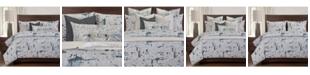 PoloGear Lapis 6 Piece Queen Luxury Duvet Set