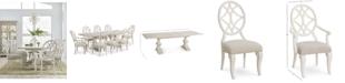 Furniture Trisha Yearwood Jasper County Dogwood Rectangular Dining Furniture, 9-Pc. Set (Table, 6 Side Chairs & 2 Arm Chairs)