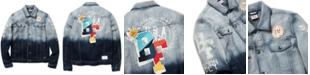 Born Fly Men's Big & Tall Graphic Trucker Jacket