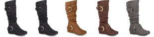 Journee Collection Women's Extra Wide Calf Jester-01 Boot