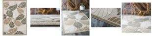 Bridgeport Home Pashio Pas2 Beige/Gray 6' x 9' Area Rug