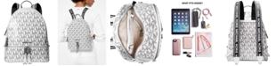 Michael Kors Signature Rhea Glossy Backpack