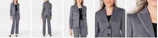 Le Suit Herringbone Pantsuit