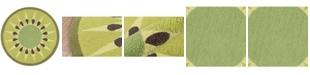 Novogratz Collection Novogratz Cucina Cna-2 Green 3' x 3' Round Area Rug