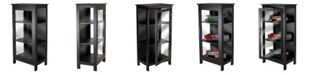 Winsome Wood Poppy Display Cabinet