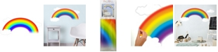 York Wallcoverings Over The Rainbow Peel and Stick Giant Wall Decal