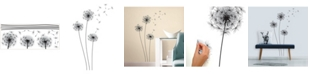 York Wallcoverings Whimsical Dandelion Peel and Stick Giant Wall Decals
