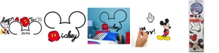 York Wallcoverings Mickey Mouse - All About Mickey Peel and Stick Giant Wall Decals