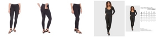 Lola Jeans High Rise Pull On Skinny Ankle Pants
