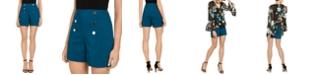 INC International Concepts I.N.C. High-Waist Sailor Shorts, Created for Macy's