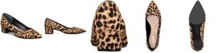 Alfani Women's Step N' Flex Cashh Low Block-Heel Pumps, Created For Macy's