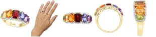 EFFY Collection EFFY® Multi-Gemstone (3-1/3 ct. t.w.) & Diamond (1/5 ct. t.w.) Statement Ring in 14k Gold