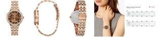 Bulova Women's Phantom Two-Tone Stainless Steel & Crystal Bracelet Watch 32.5mm