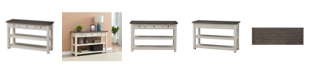 Coast to Coast St. Claire Three Drawer Console Table, Quick Ship
