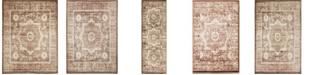 Bridgeport Home Linport Lin7 Chocolate Brown Area Rug Collection