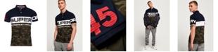 Superdry Men's International Camo Jersey Polo Shirt