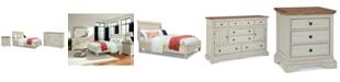Furniture Cottage Solid Wood Bedroom Furniture, 3-Pc. Set (Queen, Nightstand & Dresser)