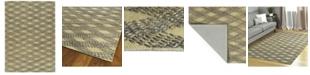 Kaleen Tulum Jute TUL02-103 Slate 5' x 7' Area Rug
