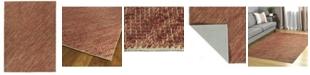 Kaleen Tulum Jute TUL01-30 Rust 5' x 7' Area Rug