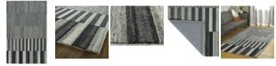 Kaleen Alzada ALZ01-38 Charcoal 2' x 3' Area Rug
