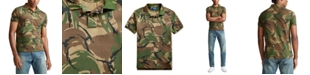 Polo Ralph Lauren Men's Big & Tall Classic Fit Camouflage Cotton Polo