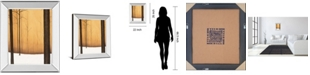 "Classy Art Golden Twilight by St. Germain Mirror Framed Print Wall Art, 22"" x 26"""