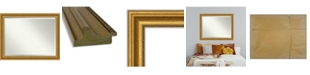 "Amanti Art Parlor Gold-tone Framed Bathroom Vanity Wall Mirror, 45.62"" x 35.62"""