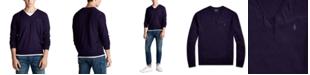Polo Ralph Lauren Men's Washable Merino Wool V-Neck Sweater