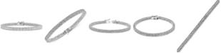Macy's Diamond Link Bracelet (1 ct. t.w) in Sterling Silver