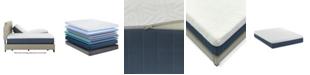 "Motion Trend 12"" Gel Plush Hybrid Eastern King Split Mattress"