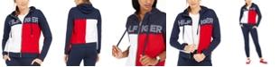 Tommy Hilfiger Colorblocked Zip-Up Hoodie