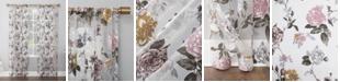 """Lichtenberg No. 918 Garden Floral 52"""" x 63"""" Semi-Sheer Curtain Panel"""